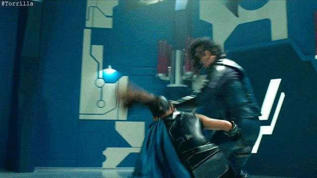 #ThorRagnarok - Gag Reel. #TomHiddleston #Loki. Video: https://m.weibo.cn/status/4209073686081369 Gif by Torrilla