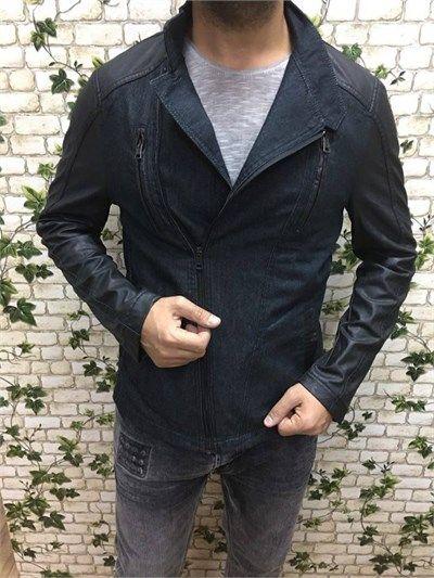 Erkek fit kesim spor deri ceket modellerini en ucuz fiyatlarıyla kapıda ödeme ve taksit ile Outlet Çarşım'dan satın al.