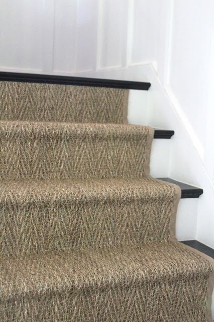 Do you recall me mentioning once or twice or 352 times that I l.o.v.e. natural fiber stair runners??? {Interior Musings} {Landry & Acari} {via} I love their neutralness, their texture, and their ruggedness for a family with kids.  We had a large seagrass rug for over 12 years, and it withstood a lot of abuse....Read More »