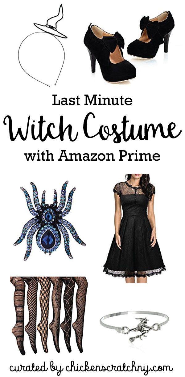 last minute halloween costume, witch costume, women's halloween costume