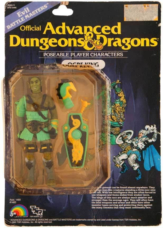Rare Advanced Dungeons and Dragons Prototype Figures
