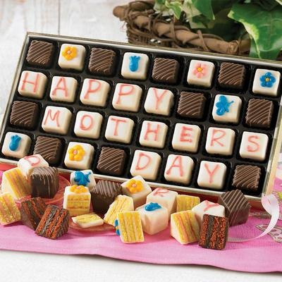 Gift Idea: Happy Mothers Day Petits Fours - Holidays & Occasions #pintowingifts