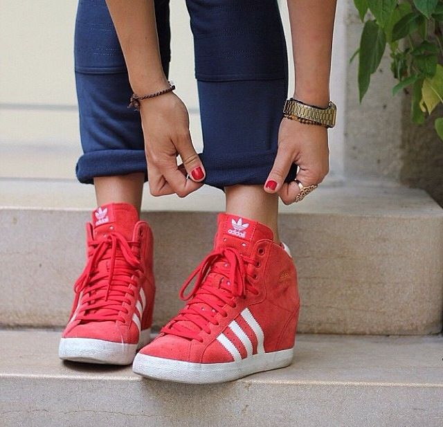 a2d0fe95d06 adidas wedge sneakers