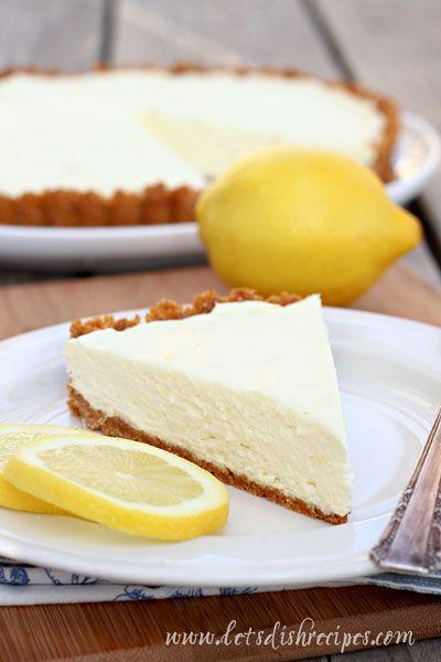 No-Bake lemon tart (no bake for the filling part, at least) (SAY WHATTTTTTT) <3