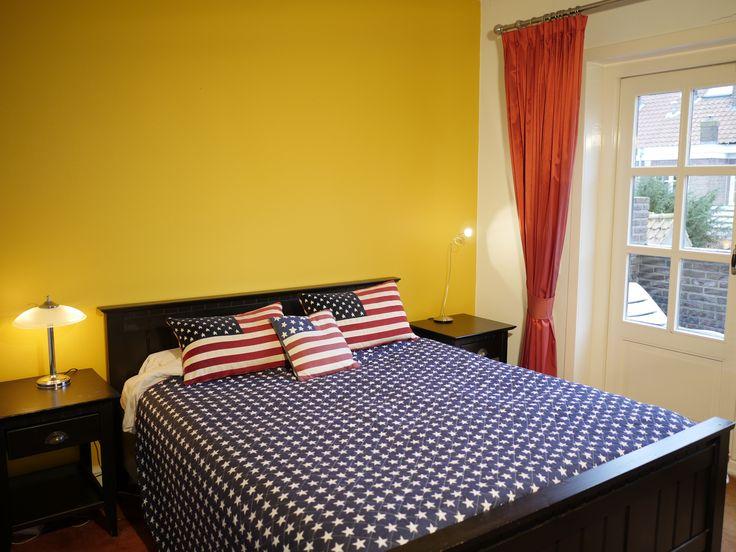 Plantsoenlaan 17, Bloemendaal. Main bedroom on the first floor.