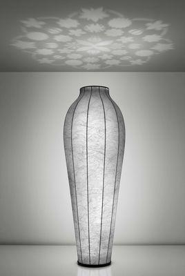Lampadaire Chrysalis H 200 cm - Projections au plafond Blanc - Flos