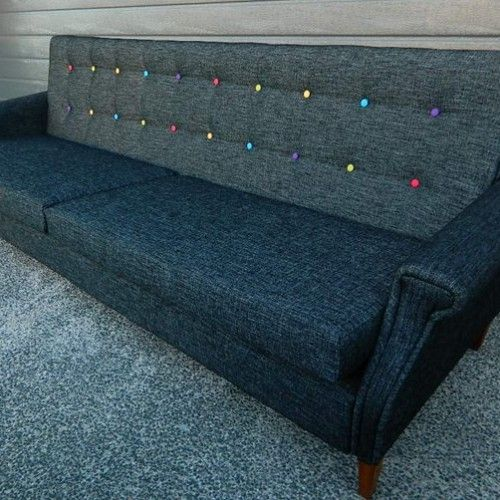 multi coloured couch
