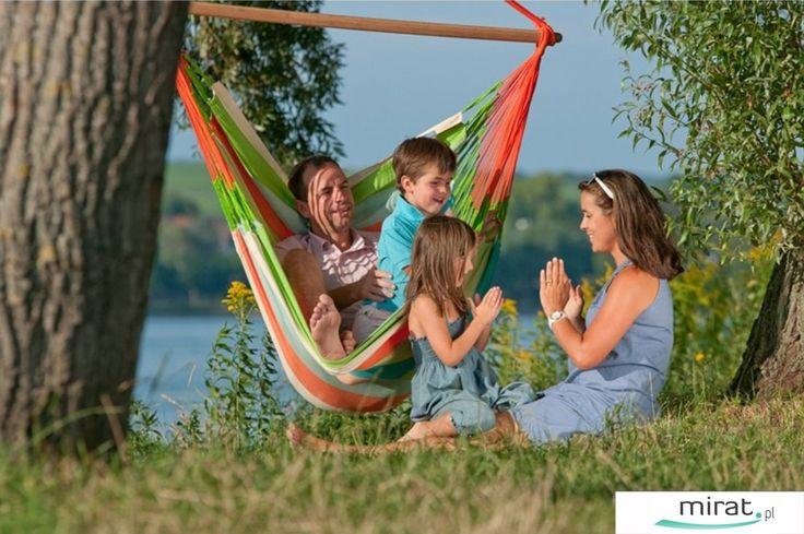 Hamaki Curambera to przyjemność wypoczynku dla dzieci i dorosłych. Wykonane są organicznej, wysokiej jakości bawełny, która posiada wzmocnione brzegi