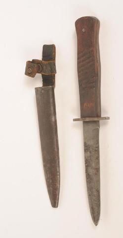 """Couteau de combat """"standard"""" GOTTLIEB HAMMESFAHR , 1ère GM."""