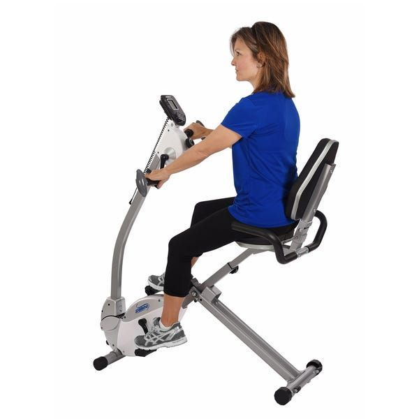 Pin On Recumbent Exercise Bike With Upper Body Workout