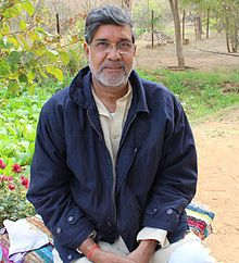 "Kailash Satyarthi (born 11 January 1954) is an Indian children's rights activist and a Nobel Peace Prize Laureate.[1] He founded the Bachpan Bachao Andolan (lit. Save the Childhood Movement) in 1980 and has acted to protect the rights of 80,000 children.[3][4]  He was awarded the 2014 Nobel Peace Prize, jointly with Malala Yousafzai, ""for their struggle against the suppression of children and young people and for the right of all children to education"".["