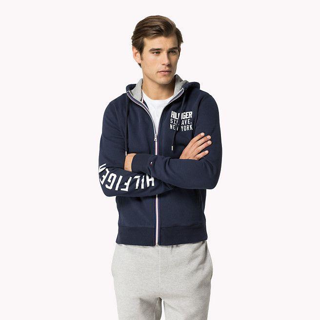 Tommy Hilfiger Nate Hooded Sweatshirt - navy blazer-pt (Blue) - Tommy Hilfiger Hoodies - main image
