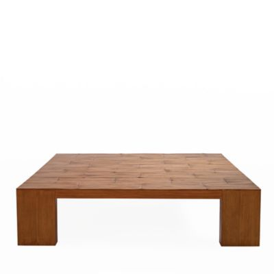 Ralph Lauren Crushed Bamboo Coffee Table