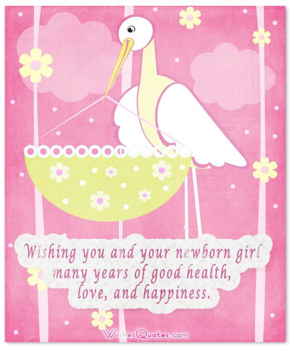 Congratulations On New Baby Girl Quotes: Baby Girl Congratulation Messages With Adorable Images