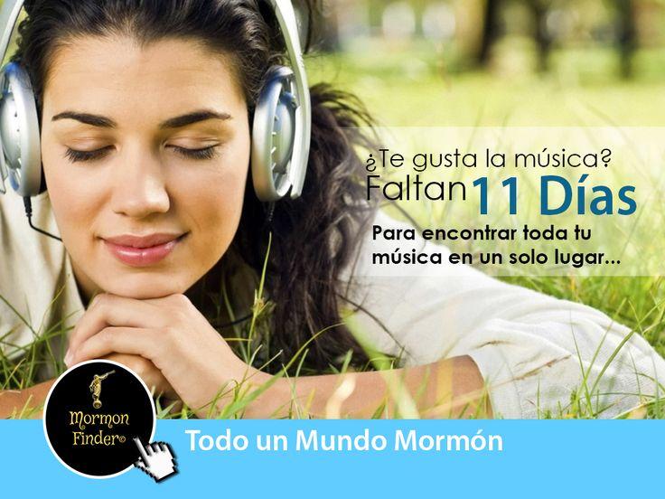 <<<11 DÍAS >>>  ¡Etiqueta a tú amigos músicos que les encanta y disfrutan la música SUD!  A partir del 15 de mayo, todo el mundo SUD en un solo lugar. Siguenos en nuestras redes sociales:  Facebook: https://www.facebook.com/pages/Mormon-Finder/1583645028549426 Twitter: https://twitter.com/mormonfindercl Instagram: https://instagram.com/mormon.finder/ Google+: https://plus.google.com/u/0/118211034236453465102