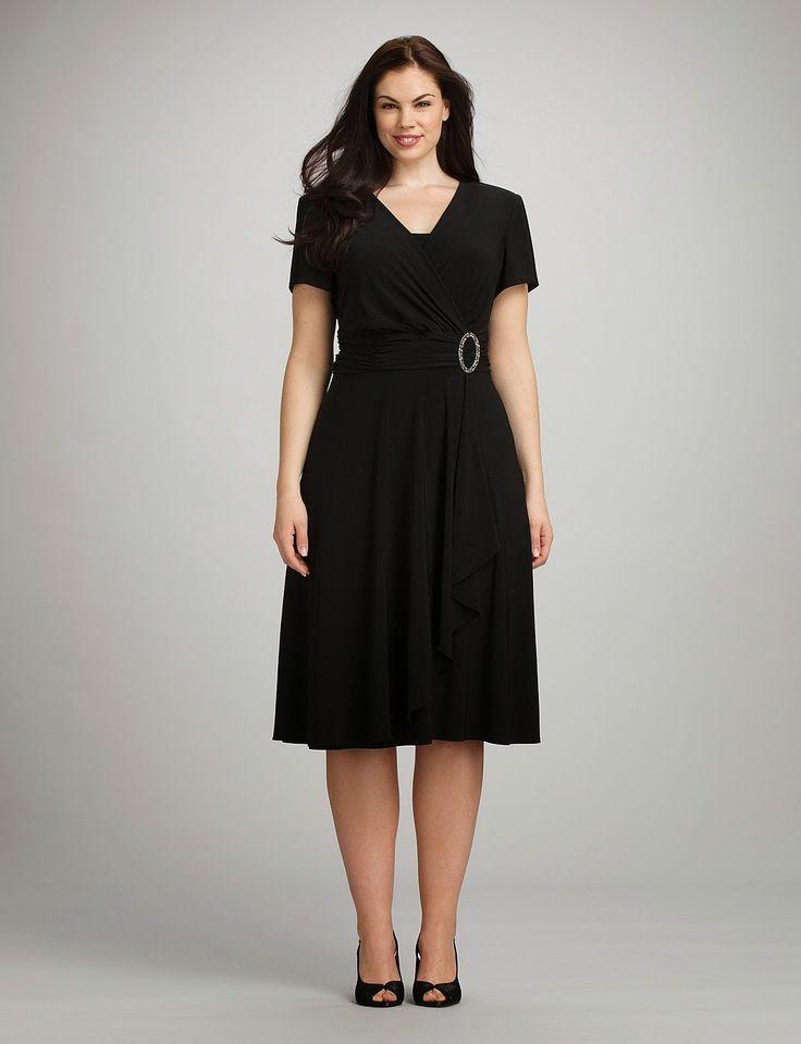Modelos de vestidos para personas gordas