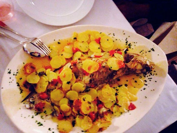 Moscia al forno con patate