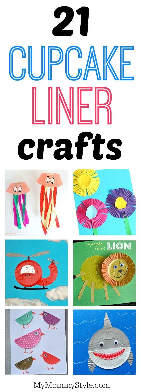21 cupcake liner crafts