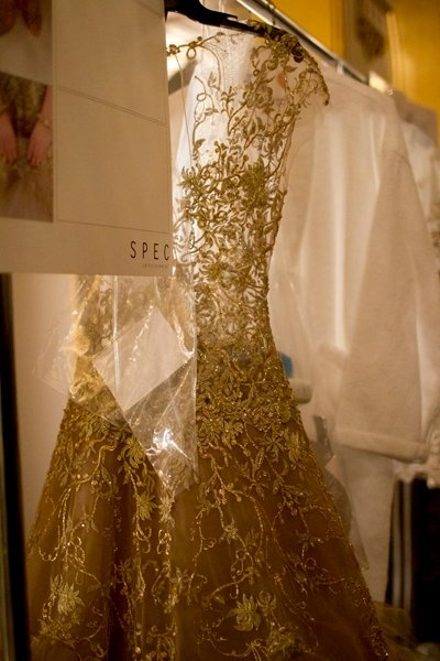 Backstage at Marchesa Fall/Winter 2012 by Kevin Tachman - The Daily Beast