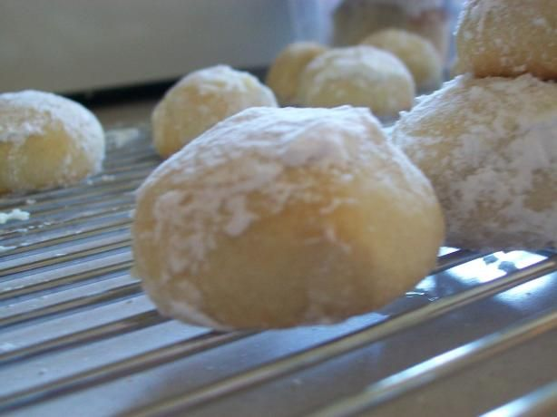Mexican Wedding Cookies. I loved these cookies growing up.