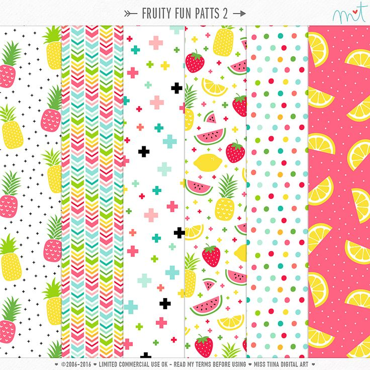 Fruity Fun Patts 2 ·CU·