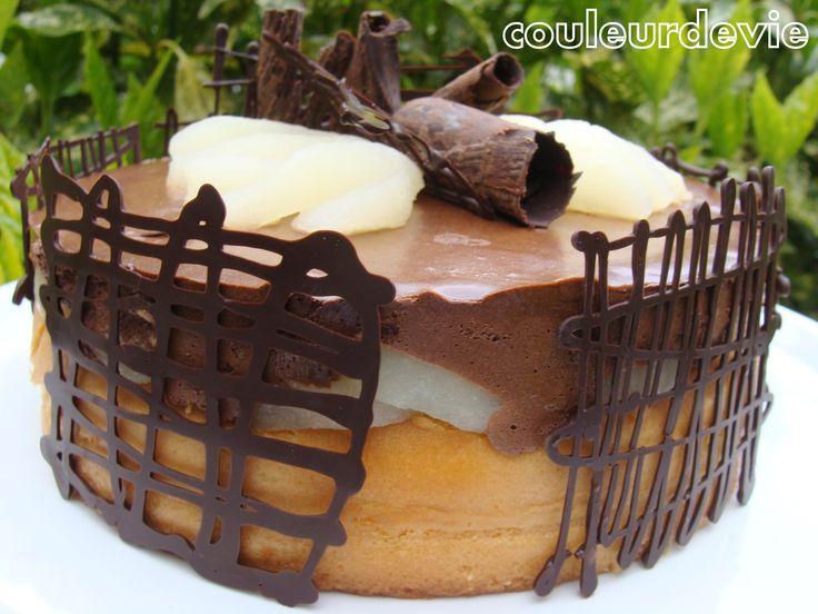 g teau mousseux chocolat poire thermomix desserts. Black Bedroom Furniture Sets. Home Design Ideas
