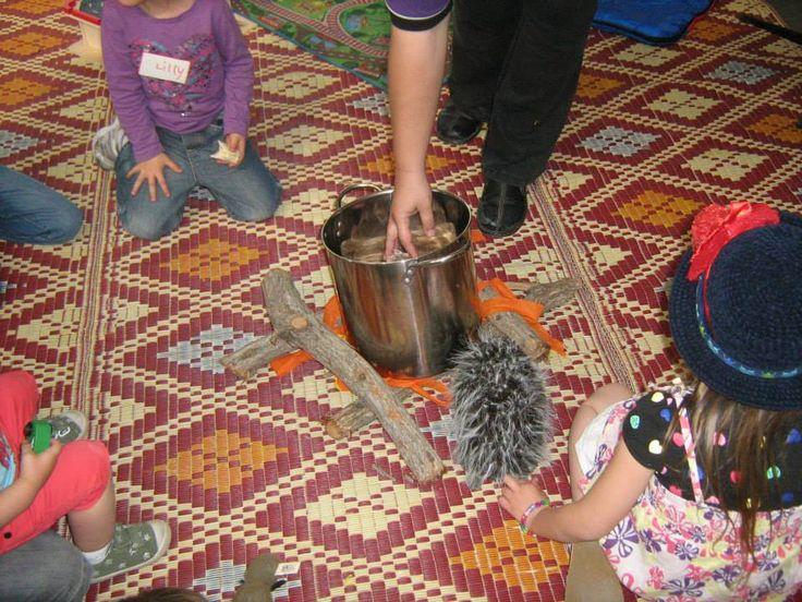 Making wombat stew