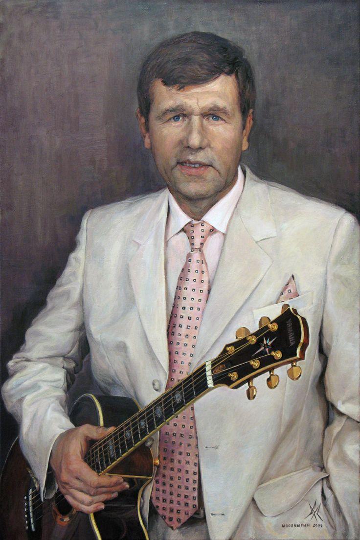 Alexander Vasiylevich Novikov. Portrait.