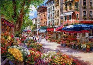 Puzzle Mercado de Paris Sam Park ( Ref: 0000058561 )