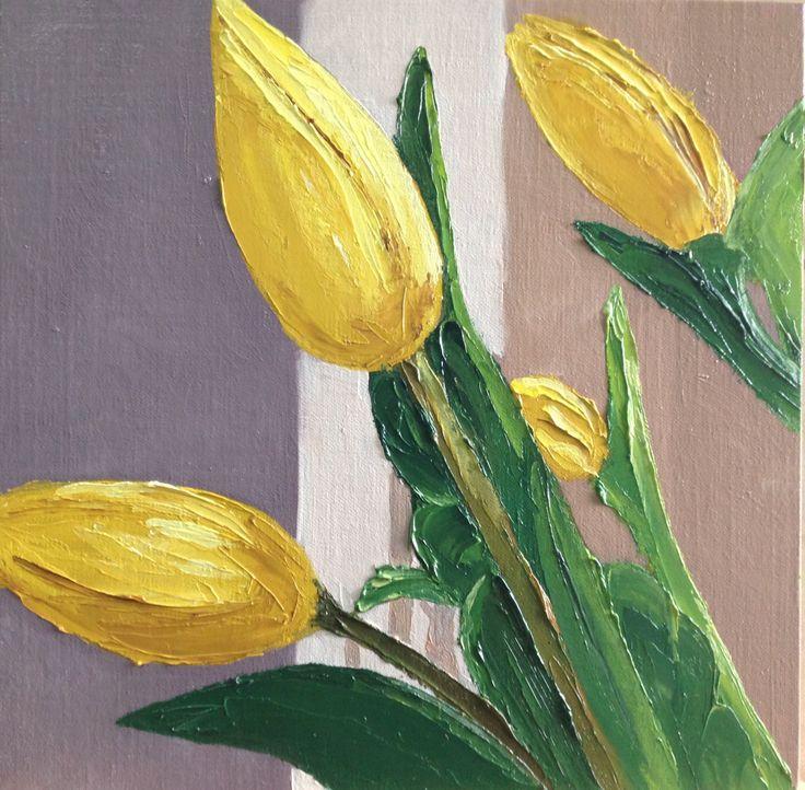 Yellow Tulips June 2014