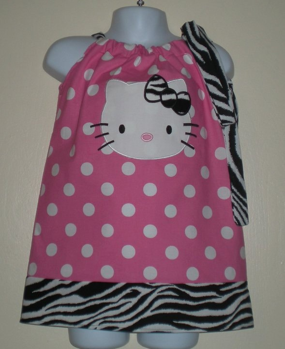 Hello Kitty Pillow Case Dress