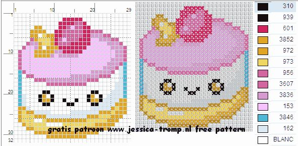 kitchen patterns and designs 51 best cross stitch cup cakes images on 5502
