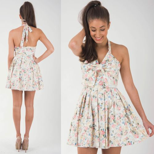 Peekaboo Fashion Dress www.peekaboofashion.com Floral dress  Buy #Dresses Online Australia http://is.gd/YUMd3v @Peekaboo Fashion