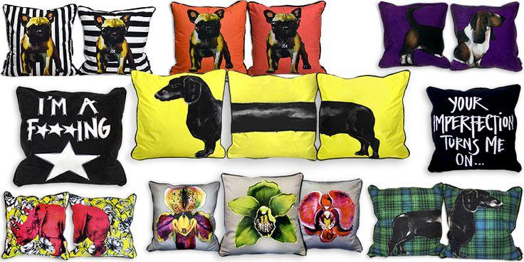 Jimmie Martin Cushions