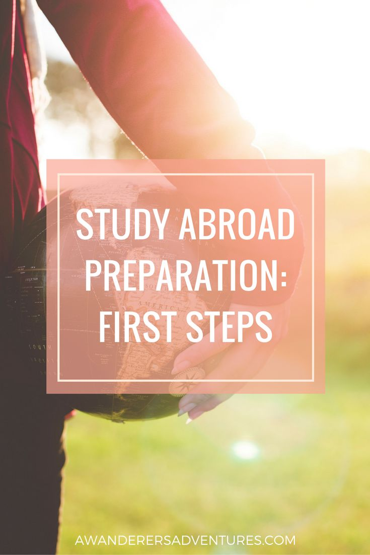 Studying abroad next semester? Click through to find out the first steps you need to take in study abroad preparation process!