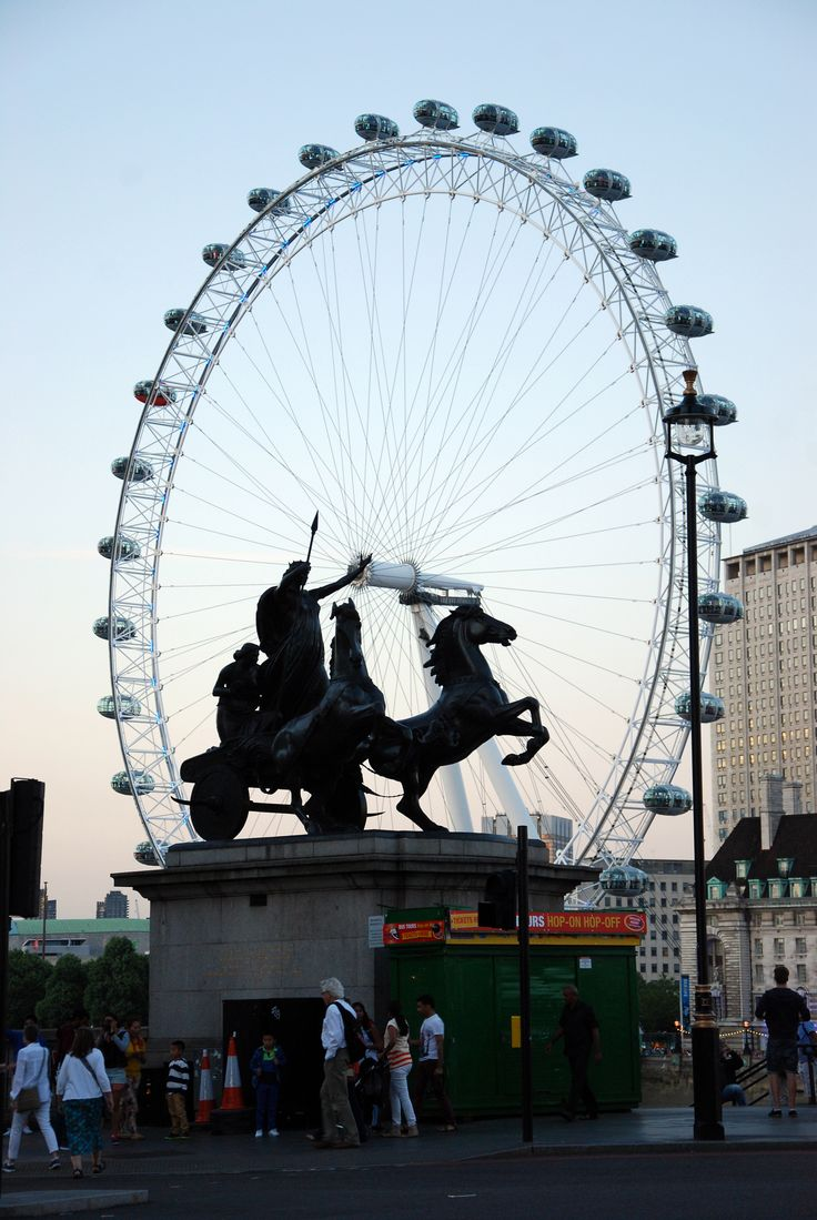 Лондонский глаз.