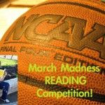 Our Elementary School's March Madness Reading Competition. A month of reading madness gets the kids ready for standardized tests.