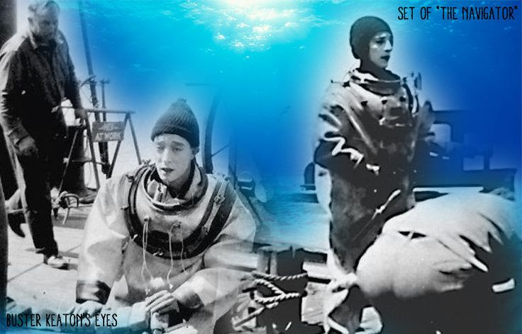Set of The Navigator - Buster Keaton