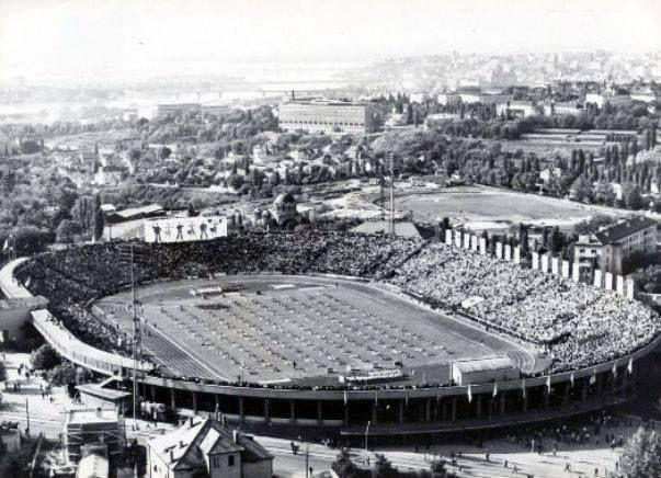 Stadion JNA, 1948