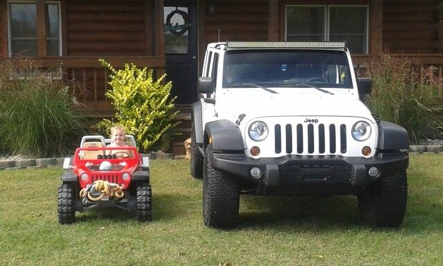 Father & son jeeps