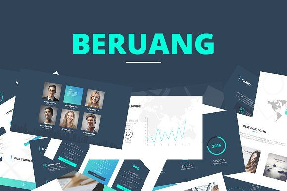 Beruang | PowerPoint Template by Angkalimabelas on @creativemarket