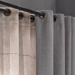 Original #curtains for an easy lifestyle. Ruw en stoere grijstinten. Mooie #gordijnen voor de woonkamer of slaapkamer.