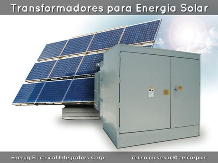 Transformadores para Energia Solar Venezuela. Transformadores para Proyectos Fotovoltaicos Venezuela. Transformadores de Distribucion en Plantas Solares Venezuela. Photovoltaic Solar Transformers Venezuela.