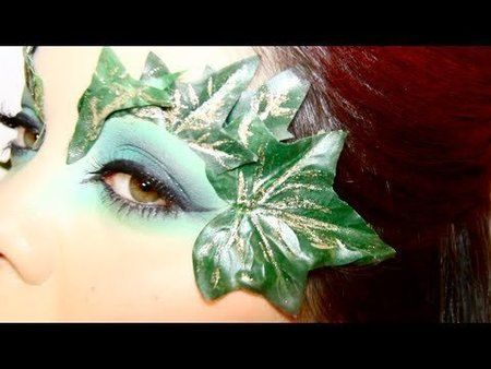 Poison Ivy Makeup Tutorial - Halloween