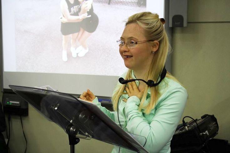 Моя дочь с синдромом Дауна мечтает изменить будущее людей с инвалидностью
