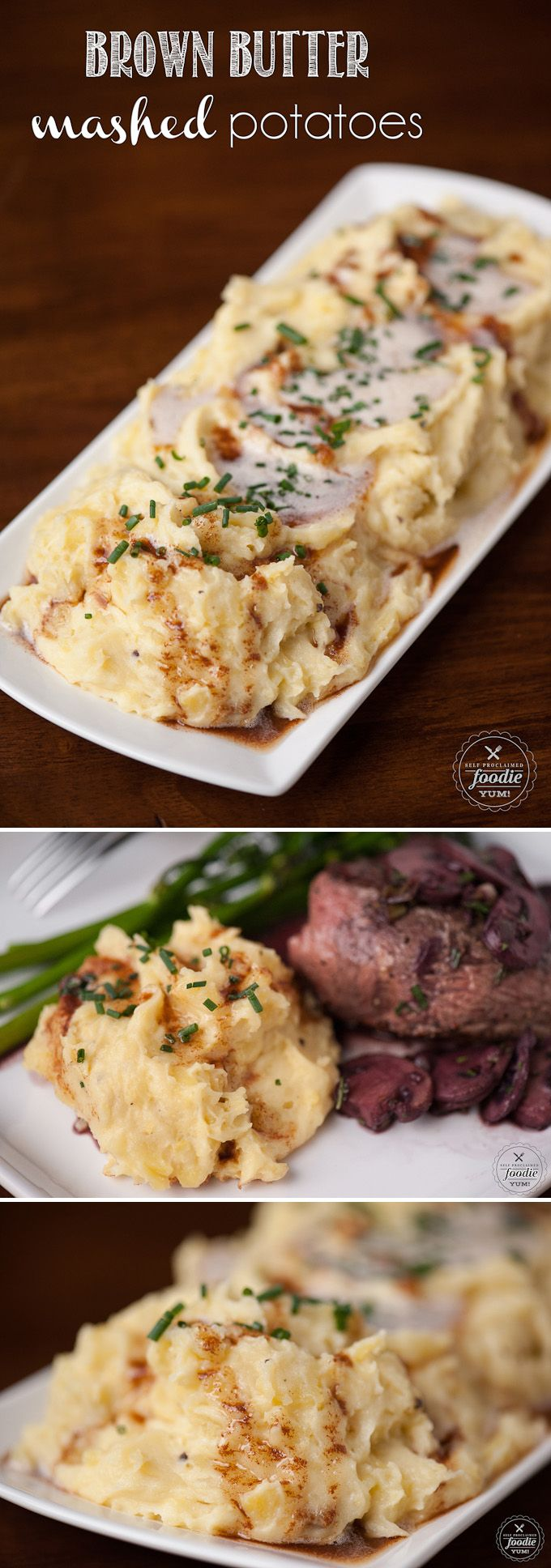 Brown Butter Mashed Potatoes | Recipe | Mashed Potatoes, Potatoes and ...