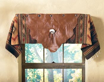 Sierra Leather Valance. Very nice! but $310 is a bit too much....