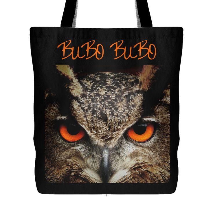 Bubo Bubo Owl Tote