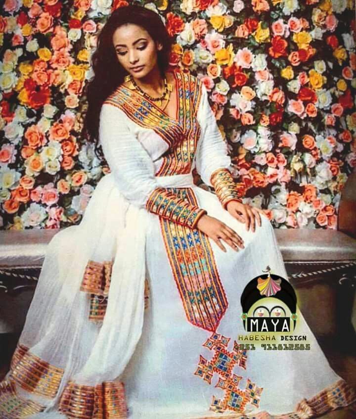 Ethiopian Traditional Clothes Design 1273 best Habes...