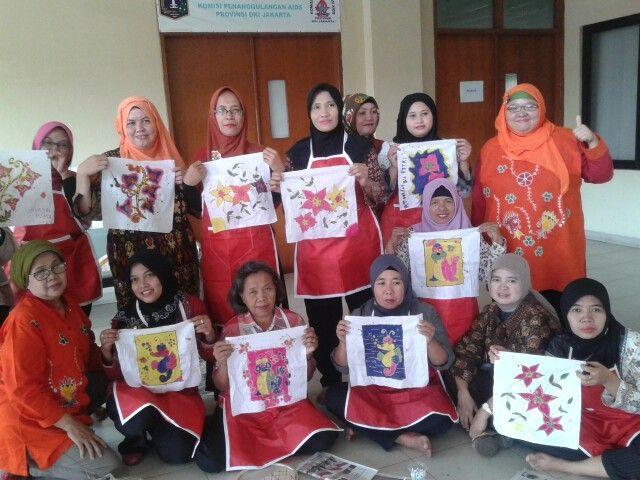 Kampoeng Batik Palbatu @Belajar Membatik di Kelurahan Jatinegara, Jakarta Timur